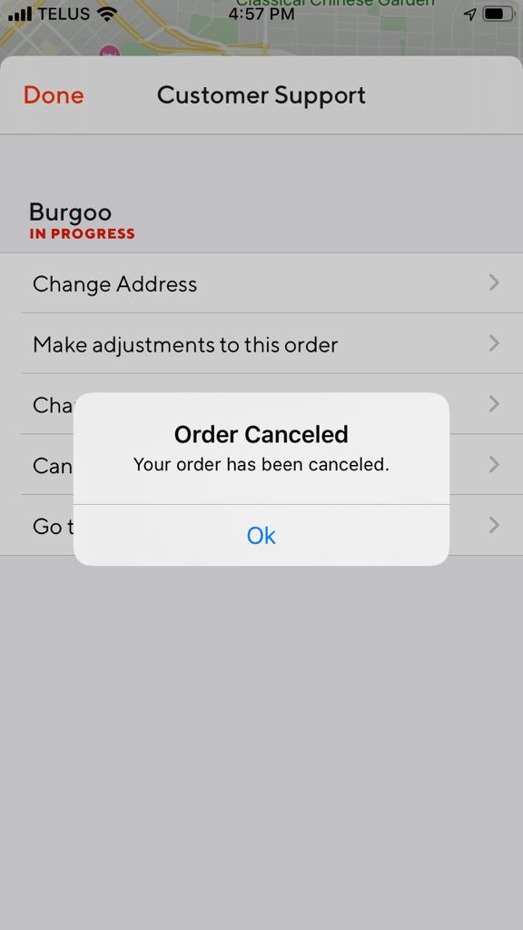 doordash messed up my order