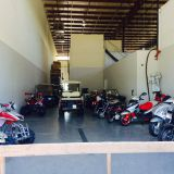 Our Modest Motorsports Showroom.  Very Few product stocked locally.