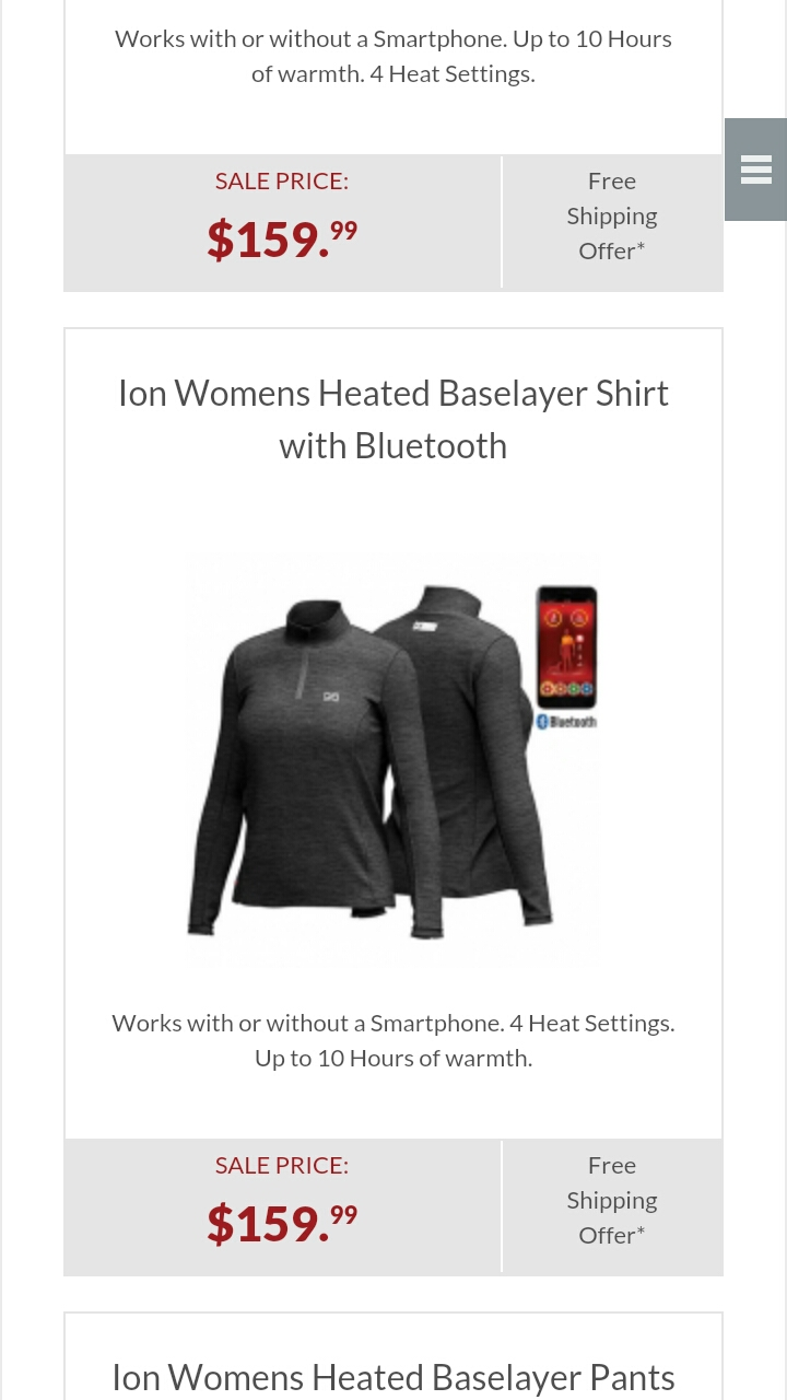 Battery Heated Clothing Heated Coats Clothes Cozywinters >> Cozywinters Reviews 8 208 Reviews Of Cozywinters Com Sitejabber