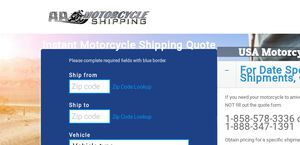 AA Motorcycle Shipping
