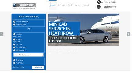A1HeathrowCars.co.uk