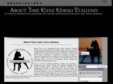 About Time Cane Corso Italiano