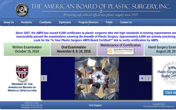 American Board of Plastic Surgery