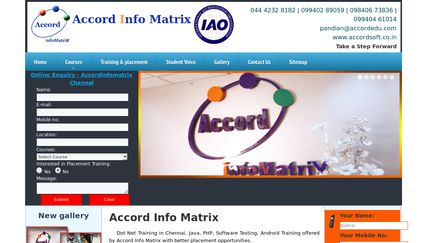 Accord Info Matrix