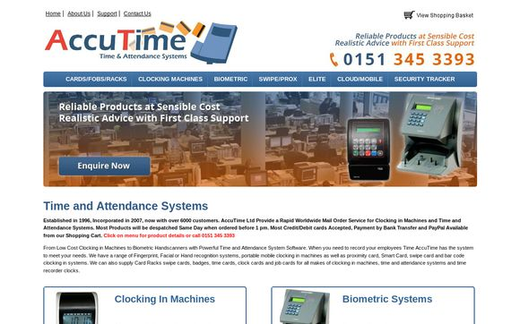 AccuTime.co.uk