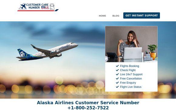 Alaskaairlines.customercarenumber.us