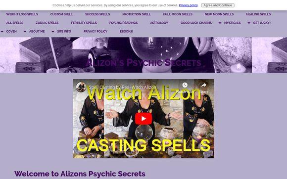 Alizons Psychic Secrets
