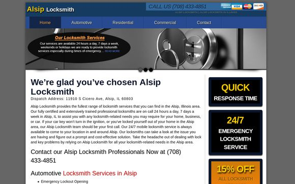Alsip Locksmith