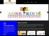 Aoneprint4.com
