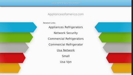 AppliancesOfAmerica