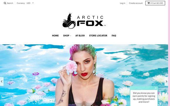 ArcticFoxHairColor