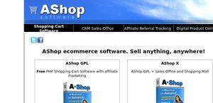 AShop eCommerce Shopping Cart Software