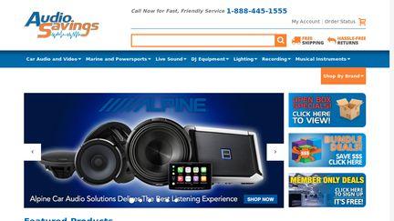 Audio Savings