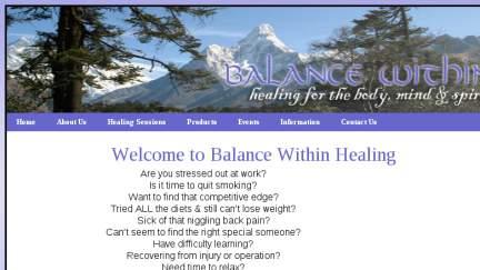 Balancewithinhealing.com.au