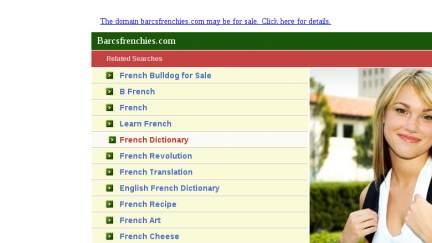 Barcsfrenchies.com