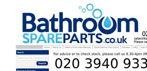 BathroomSpareparts.co.uk