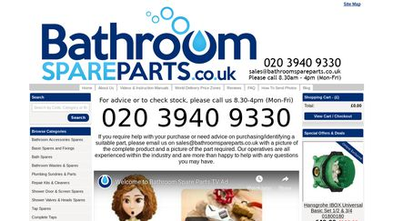BathroomSpareparts.co.uk
