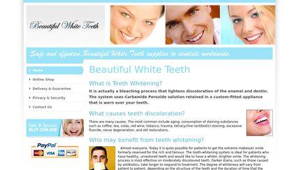 Beautiful White Teeth