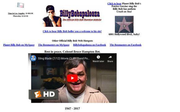 Billybobthornton.net