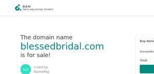 Blessedbridal.com