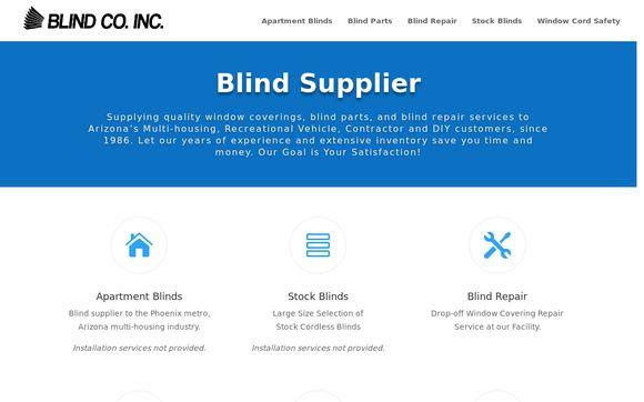 Blind Co Inc