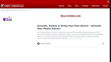Boss-Cellular