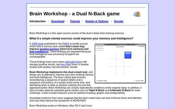 Brain Workshop