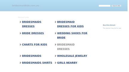 Bridesmaidtide.com.au