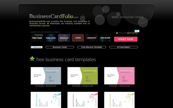 BusinessCardFolio