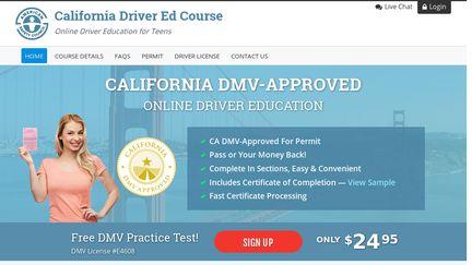 California Driver Ed Course