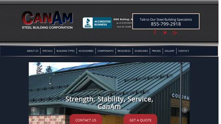 CanAm Steel Buildings