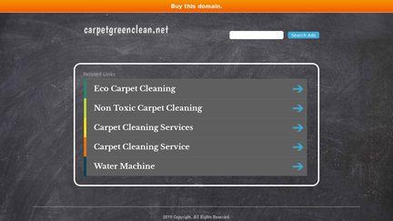 CarpetGreenClean.net