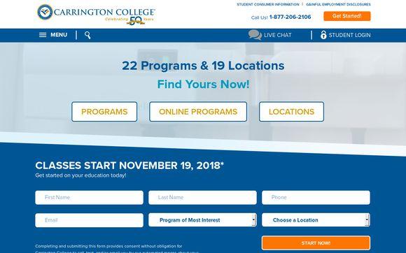 Carrington College California, Sacramento