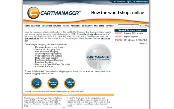 CartManager