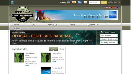 Credit Card Database