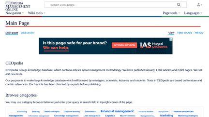 CEOpedia Management Online