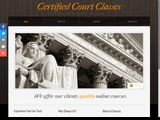 Certified Court Classes