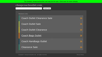 Cheapcoachoutlet
