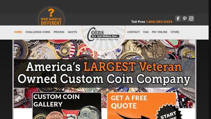Military & Custom Challenge Coins