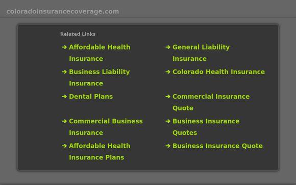 ColoradoInsuranceCoverage