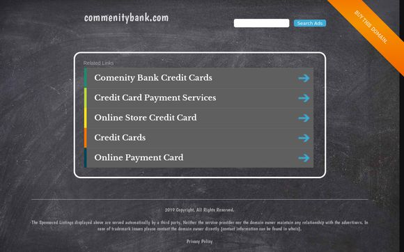 Commenitybank