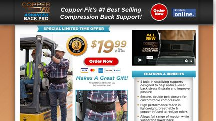 Copper Fit Back