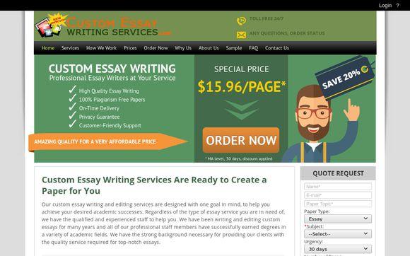 CustomEssayWritingServices