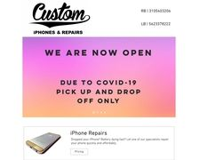 Custom iphones and repairs