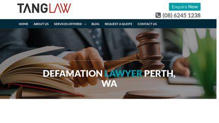 Defamationlawyerperth.com.au