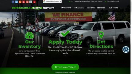Dependable Auto Outlet