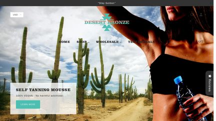 Desert Bronze Self Tanning