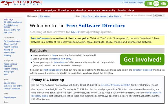 Free Software Directory