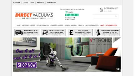 Direct Vacuums