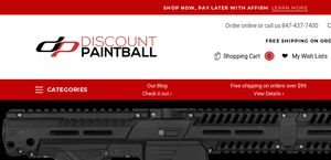 Discount Paintball